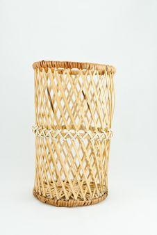 Free Wooden Basket Royalty Free Stock Image - 15327156