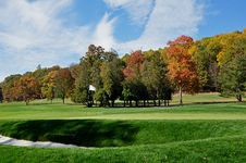 Free Autumn Golf Green Stock Images - 15327264