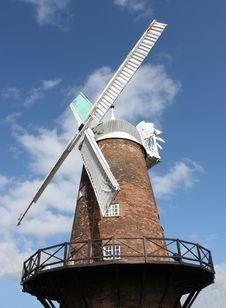Free Flour Windmill Royalty Free Stock Photo - 15327545