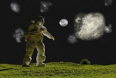 Free Astronaut Royalty Free Stock Photos - 15327628