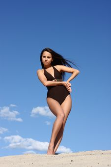 Free Exercising Girl Stock Photos - 15328023