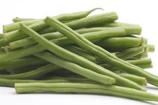 Long Green Beans Stock Photo