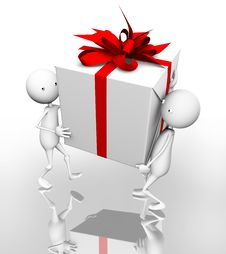Free 3D. Gift Stock Photography - 15328522