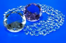 Free The Faceted Stones Royalty Free Stock Photo - 15328825