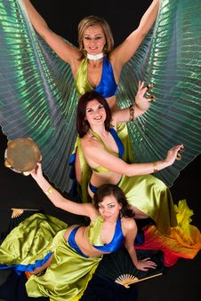 Free Belly Dancers Stock Photos - 15328963