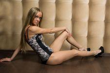 Free Sexy Glamorous Girl In Corset Stock Image - 15328981