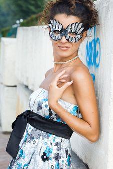 Free Beautiful Fashionable Woman Royalty Free Stock Photos - 15329128