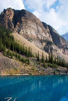 Free Moraine Lake Royalty Free Stock Images - 15329249