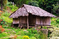 Free Thai Hill-tribe Style Hut Royalty Free Stock Photography - 15329327