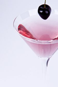 Free Cocktail With Cherry Stock Photos - 15329543