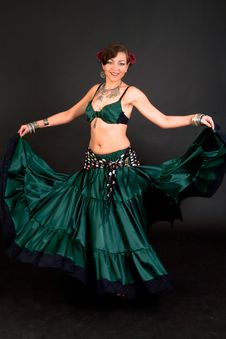 Free Belly Dancer Stock Photography - 15329602