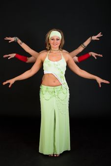 Free Belly Dancers Stock Image - 15329911