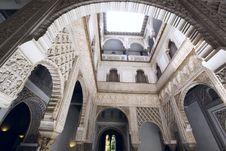 Alcázar Of Seville Royalty Free Stock Photos