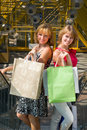 Free Beautiful Young Women Shopping. Stock Photography - 15333062