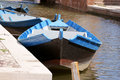 Free Wooden Boats In A Canal Stock Image - 15338361