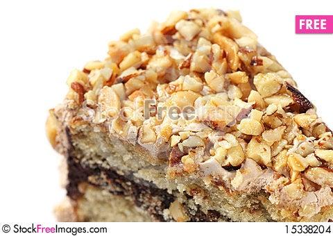 Free Almond Chocolate Cake Stock Images - 15338204