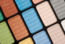 Free Make-up Eyeshadows Royalty Free Stock Image - 15330106