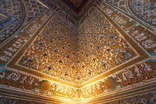 Free Interior Of Alcazar, Seville Stock Image - 15330151
