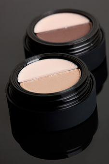 Free Brown Make-up Eyeshadows Royalty Free Stock Photos - 15330178