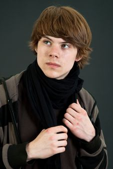 Teen Boy Stock Image