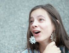 Free Surprised Girl Stock Photography - 15330642