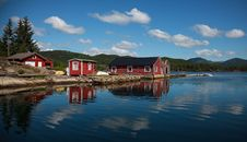 Free Beautifull Norway, Boats And The Boathouse Stock Photos - 15330933