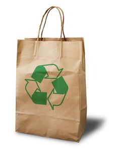 Free Crumpled Paper Bag Royalty Free Stock Photo - 15331215