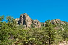 Free Mountain With Clear Blue Sky Royalty Free Stock Photo - 15331875