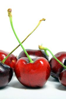 Free Sweet Cherry Royalty Free Stock Photos - 15332148