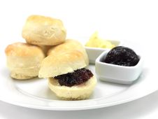Free Baked Scones Royalty Free Stock Image - 15333136
