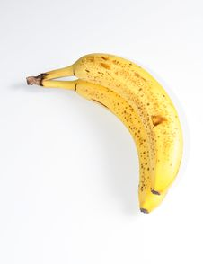 Free Isolated Bananas Royalty Free Stock Photography - 15333467