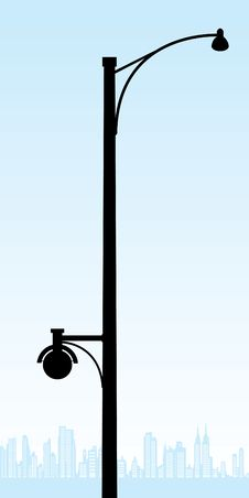 Free Street Lamp Royalty Free Stock Photos - 15333498