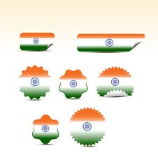 Free Indian Flags Stock Photos - 15333533