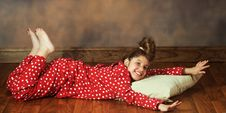 Free Happy In PJs Stock Images - 15333714