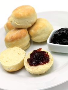 Free Baked Scones Royalty Free Stock Image - 15334336