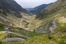 Free Mountain Road Royalty Free Stock Photos - 15334388