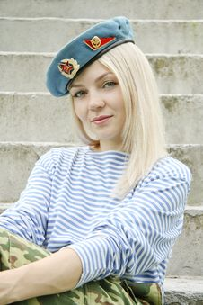 Free Green-eyed Soldier Stock Photos - 15334623