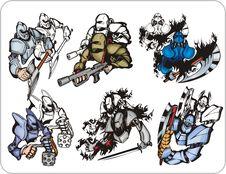 Free Cyborg Stock Image - 15335681