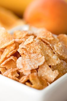 Free Cornflakes Closeup Stock Images - 15336974