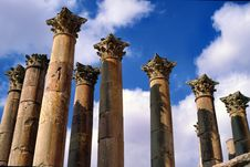 Free Corinthian Columns Royalty Free Stock Photos - 15337248