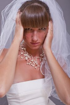 Free Frustrated Bride Stock Images - 15337634