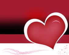 Free Background Heart Stock Photography - 15337772