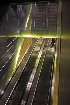 Free Escalator Royalty Free Stock Image - 15338076