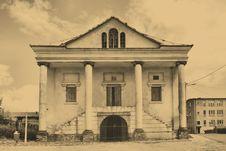 Old Synagogue In Klimontow. Poland Stock Photos