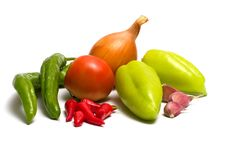 Free Vegetables. Royalty Free Stock Image - 15338756