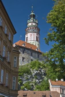 Free Cesky Krumlov Royalty Free Stock Photos - 15338888