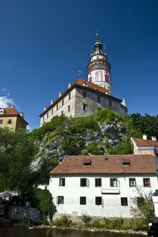 Free Cesky Krumlov Royalty Free Stock Photography - 15338927