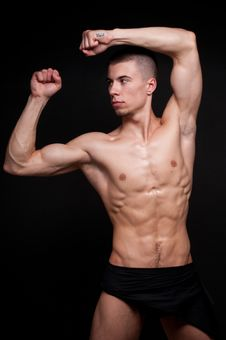 Male Model Royalty Free Stock Photography