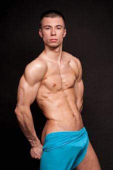 Male Model Stock Image