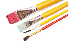 Free Paint Brushes Royalty Free Stock Image - 15339926